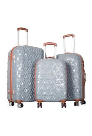 Ççs Polycarbonate Set Ççs5147 Valiz - Set Gümüş