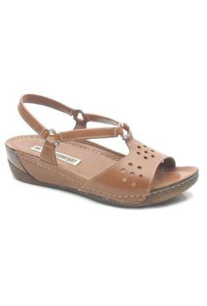 Comfort Line Bayan Deri Sandalet
