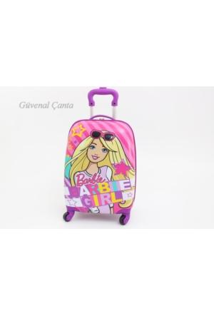 Hakan Hkn87945 Barbie Girl Çocuk Valiz, Bavul
