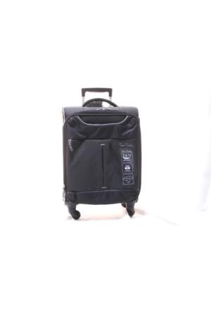 Pierre Cardin T1-E-04Pc9800-1S Siyah Büyük Valiz