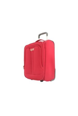Pierre Cardin T2-04Pc0700-3K Kırmızı Kabin Boy Valiz, Bavul