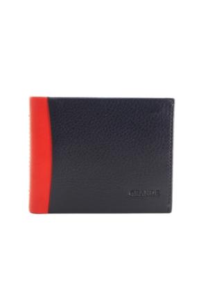 Grande Gd 1576-L-K Grande Laci-Kırmızı Hakiki Deri Kartlık - Cüzdan