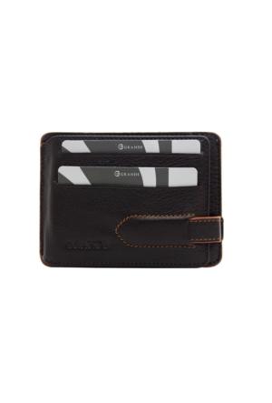Grande Gd 544-Kh Grande Kahverengi Hakiki Deri Kartlık - Cüzdan