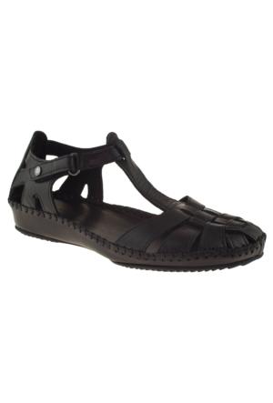 Greyder 51266 Zn Casual Siyah Bayan Sandalet