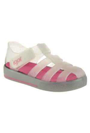 Igor 10107 Tenis Fuşya Kız Çocuk Sandalet