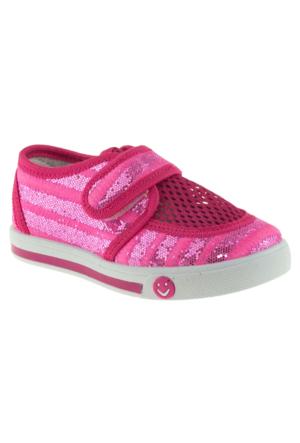 Muya 92363 Tek Cırt Fuşya Kız Çocuk Sandalet