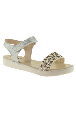 Vicco 921.Z.764 Kız Çocuk Gümüş Sandalet