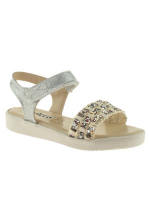 Vicco 928.Z.763 Kız Çocuk Gümüş Sandalet