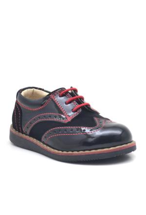 Raker Siyah Rugan Lastikli Erkek Bebek Ayakkabısı