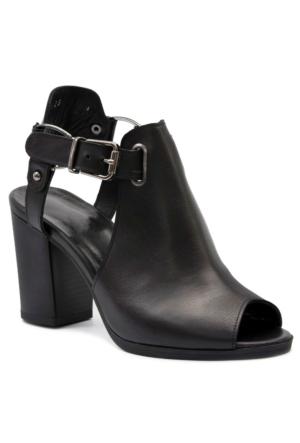 Gedikpaşalı 7126 Siyah Terlik-Sandalet