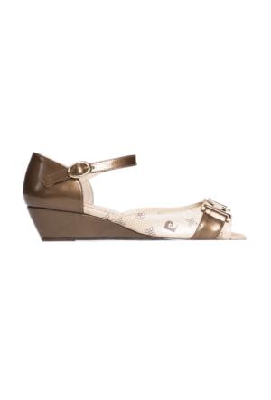 Pierre Cardin Kadın Sandalet Sarı