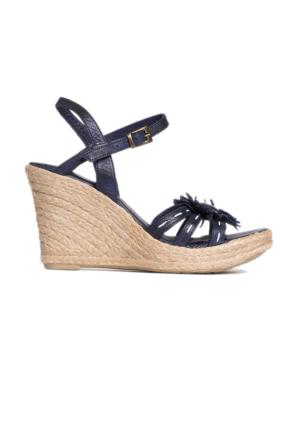 Pierre Cardin Kadın Sandalet Lacivert