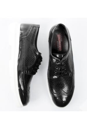 Siyah Rugan Erkek Ayakkabı 1702004-002 Deepsea