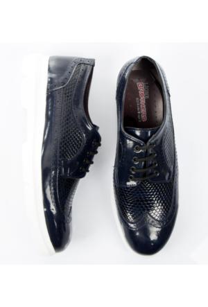 Lacivert Rugan Erkek Ayakkabı 1702004-008 Deepsea
