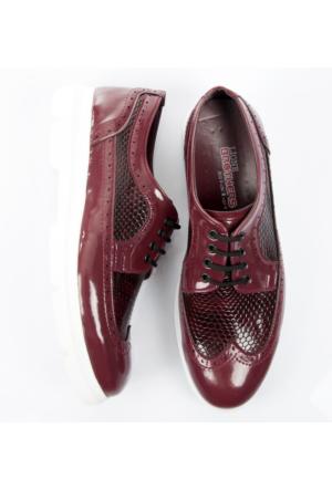 Bordo Rugan Erkek Ayakkabı 1702004-016 Deepsea