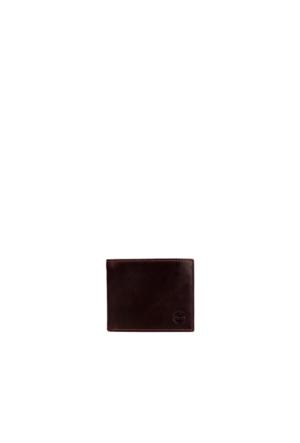Timberland A1Dk8242 D99210 Passcase W/ C Dark Brown Cüzdan