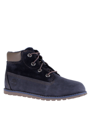 Timberland Navy Nubuck 1951B Pokey Pine 6In Boot With Bot