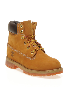 Timberland Wheat Nubuck 12909 M 6 In Classıc Boot Ftc Bot