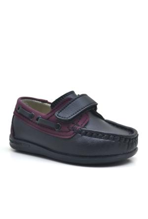 Raker ® Siyah Cırt Cırtlı Erkek Bebek Ayakkabısı