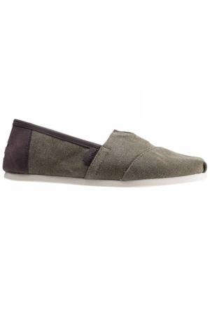 Toms Olive Wash CanvasTrim Erkek Günlük Ayakkabı 10009900