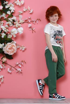 Rotax 211-55 Beyaz Lacivert Kırmızı Çocuk Ayakkabı