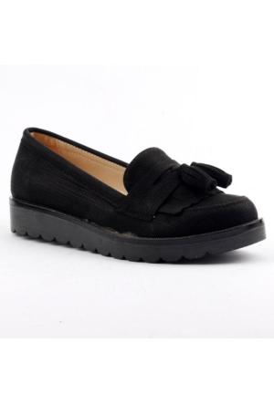 Armoni 41 Yumuşak Taban Günlük Bayan Babet Ayakkabı