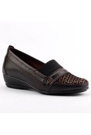 Ayakland 105 Yumuşak Taban Anne Bayan Klasik Ayakkabı