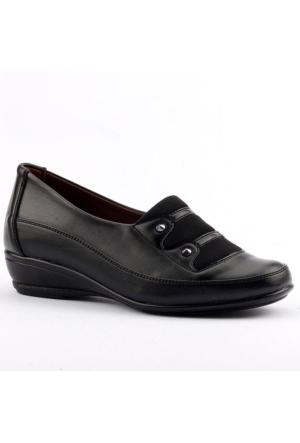 Ayakland 106 Yumuşak Taban Anne Bayan Klasik Ayakkabı