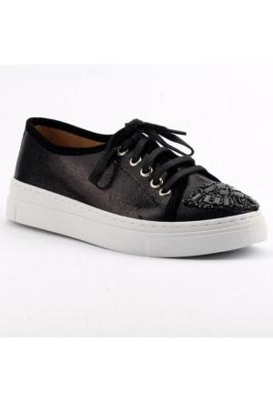 Ccway 138 Vans Yürüyüş Taşlı Bayan Günlük Ayakkabı