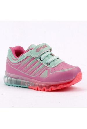 Arvento 770 Işıklı Günlük Yürüyüş Koşu Kız Çocuk Spor Ayakkabı