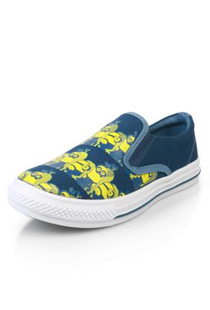 Minions 6P Esebı Mav Ayakkabı