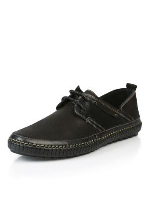 Natural 6309 Siyah Merdane Ayakkabı