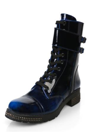 Darkwood 5186-Z-Klasik Bot - Siyah Mavi -