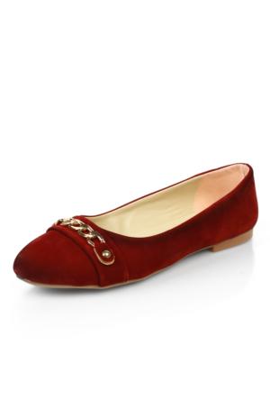 Demir C8 Bordo Ayakkabı