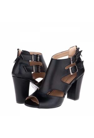 Primo Passo Aktenli Kadın Topuklu Sandalet A172Yakt00006001