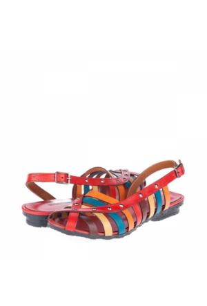 Bulldozer Kadın Hakiki Deri Sandalet A172Ybul0013005