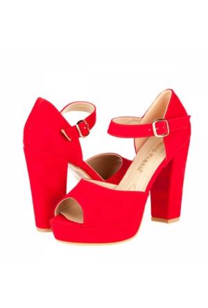 Primo Passo Tübu Kadın Platform Topuklu Ayakkabı A172Ytğb0007060