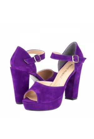 Primo Passo Tübu Kadın Platform Topuklu Ayakkabı A172Ytğb0007074