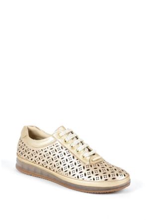 Sapin 25955 Kadın Ayakkabı Altın