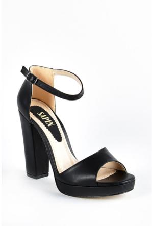 Sapin 35731 Kadın Sandalet Siyah