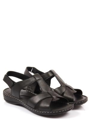 Gön Deri Kadın Sandalet 45005