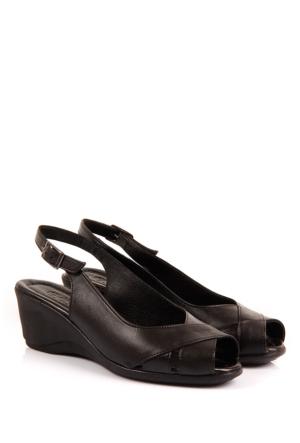 Gön Deri Kadın Sandalet 45216