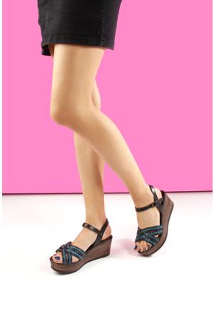 Gön Deri Kadın Sandalet 45258