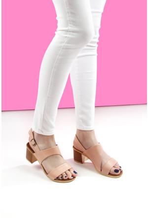 Gön Deri Kadın Sandalet 45803