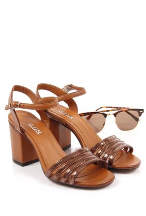 Gön Deri Kadın Sandalet 16063