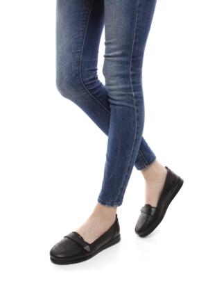 Gön Deri Kadın Ayakkabı 42204