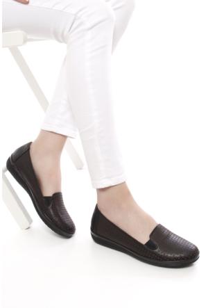 Gön Deri Kadın Ayakkabı 42306