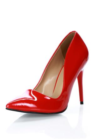 Forse Ayakkabı Forse 117R Kırmızı Rugan Ayakkabı