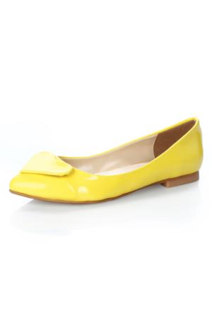 Atılım 1071R Sarı Rugan Ayakkabı