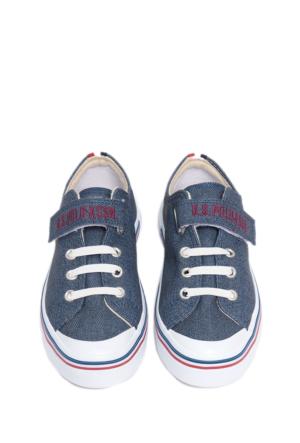 U.S. Polo Assn. Erkek Çocuk K6Alex Ayakkabı Mavi